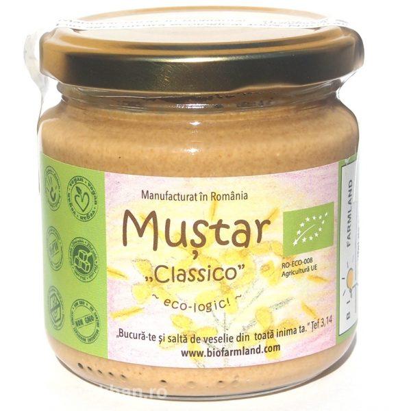 Muștar Classic ecologic - 0
