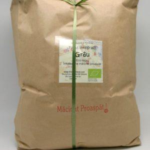 Făină ecologică integrală Grâu - 5 kg