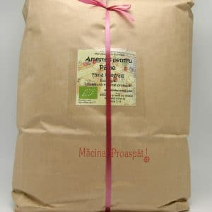 Făină ecologică integrală amestec pentru pâine - 5 kg