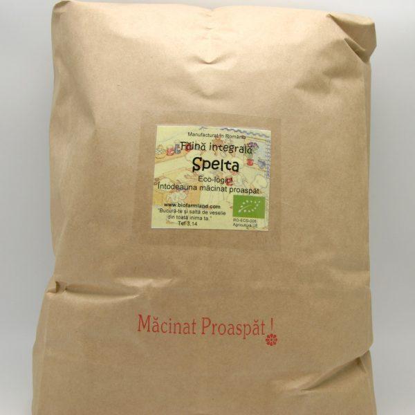 Făină ecologică integrală Spelta - 5 kg