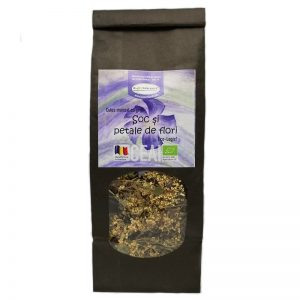 Ceai din plante BIO - Soc și petale de flori