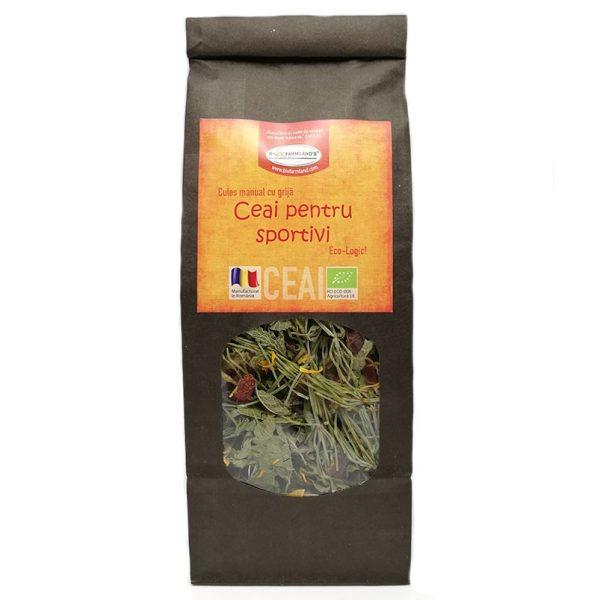 Ceai din plante BIO - Ceai pentru sportivi
