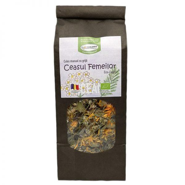 Ceai din plante BIO - Ceasul Femeilor