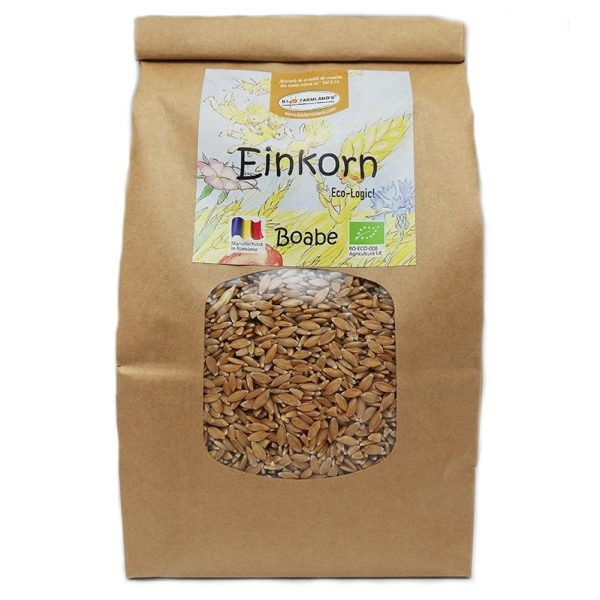 Boabe de grâu Einkorn ecologic (Alac) - 0