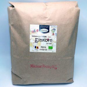 Făină ecologică integrală Einkorn - 5 kg