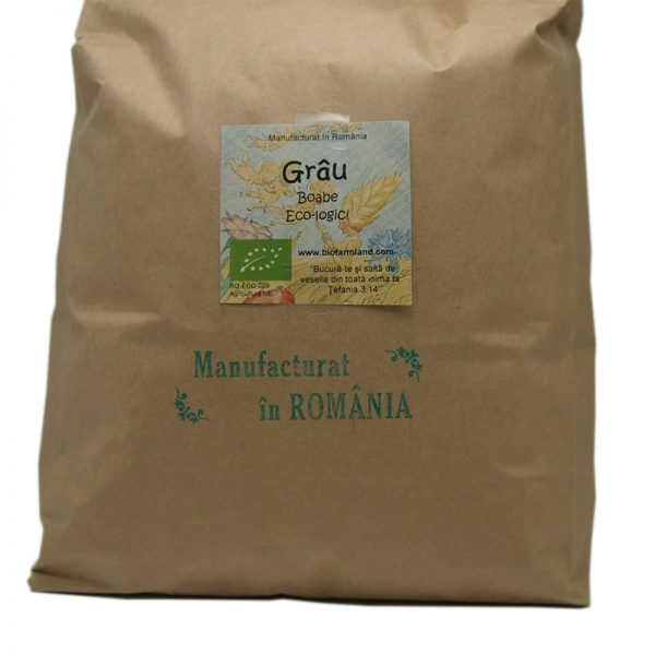 Boabe Grâu ecologic - 5 kg