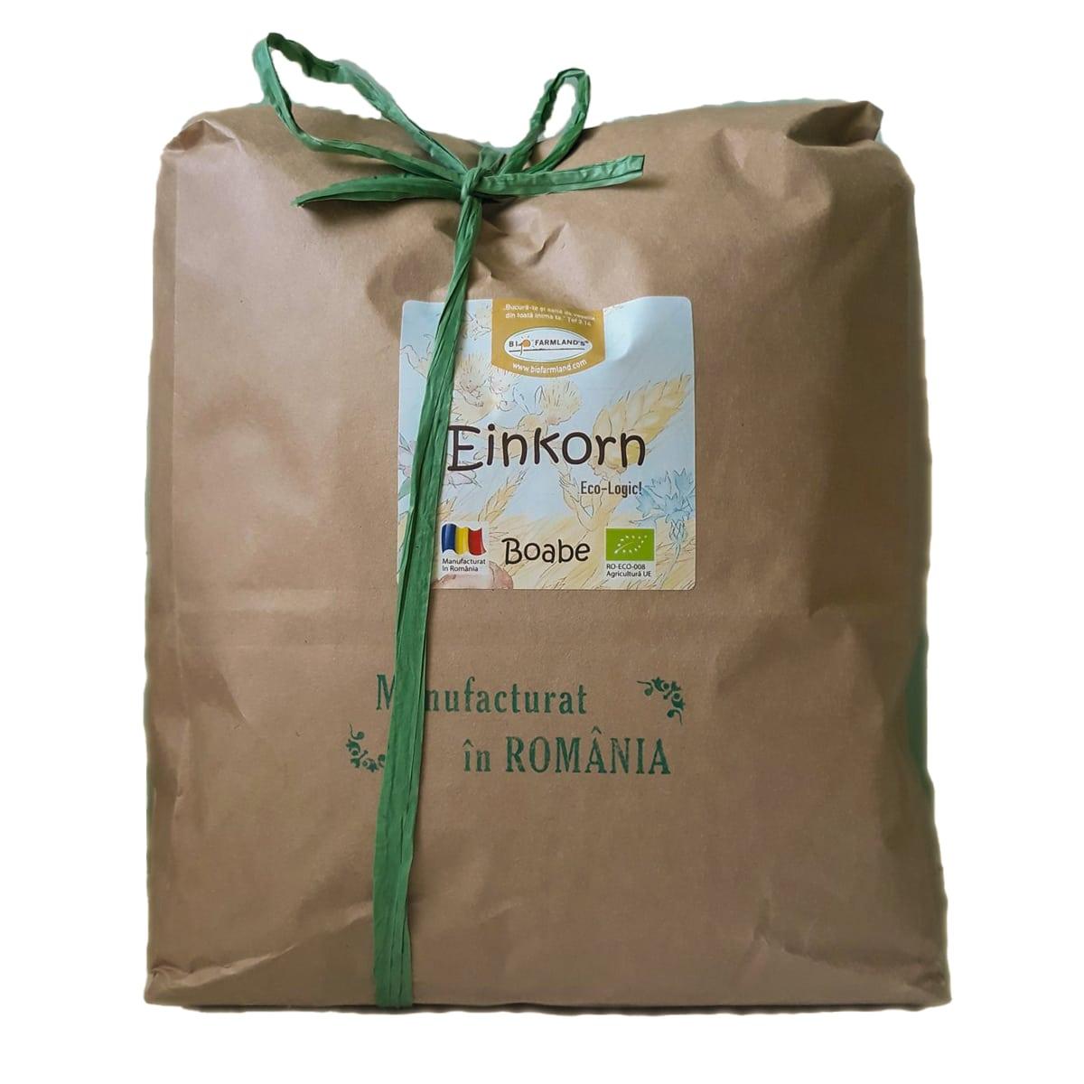 Boabe de grâu Einkorn ecologic (Alac) - 5 kg