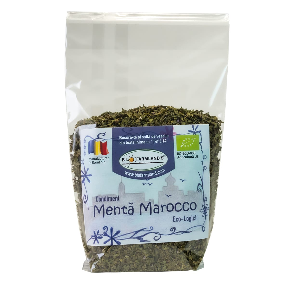 Maroko Minze-Gewürze Flasche