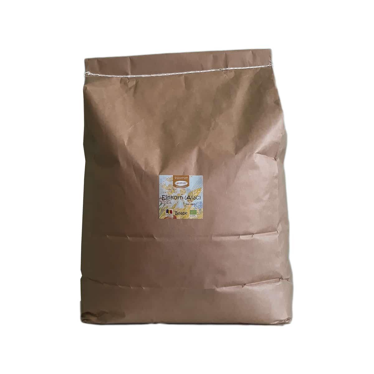 Boabe de grâu Einkorn ecologic (Alac) - 20 kg