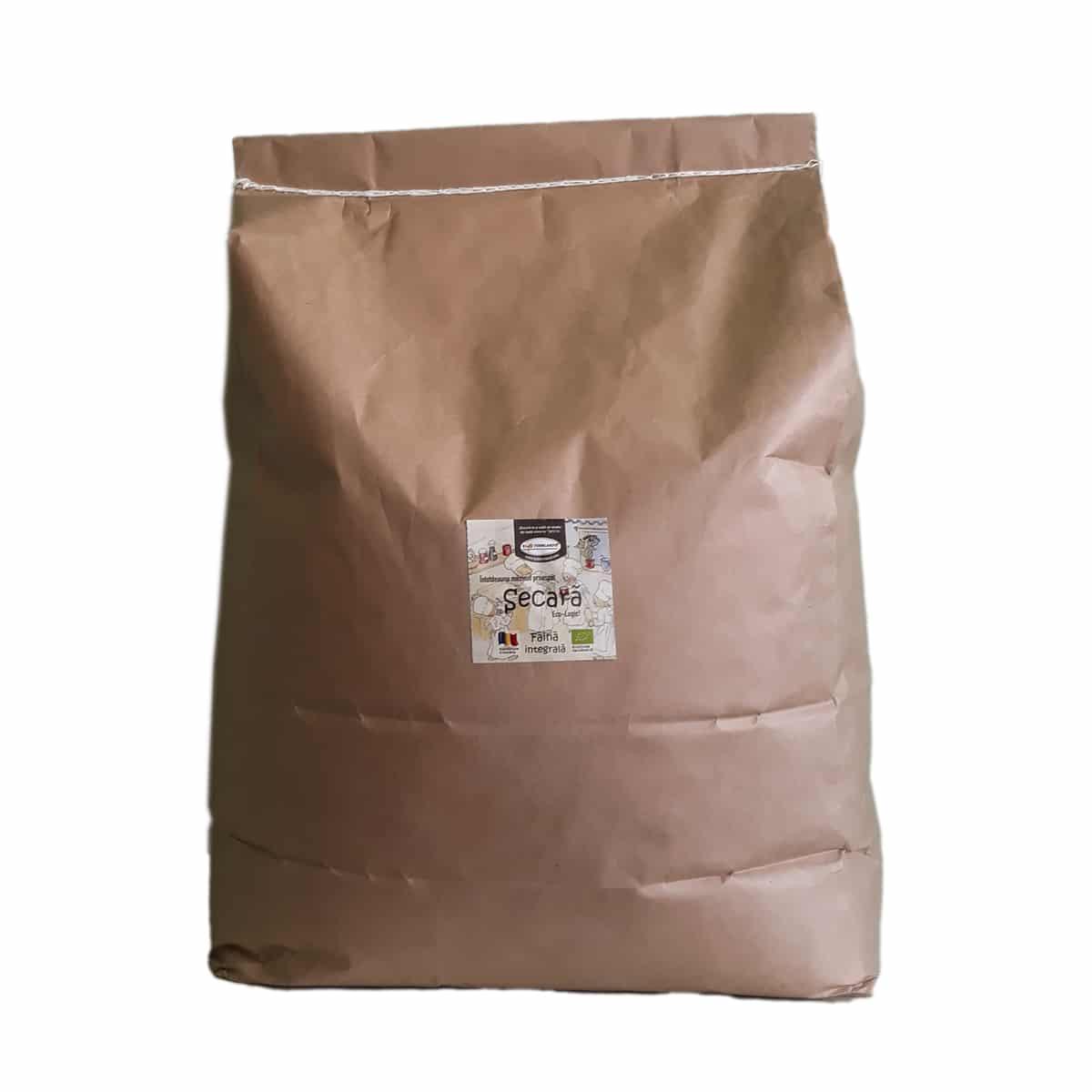 Făină ecologică integrală Secară - 20 kg