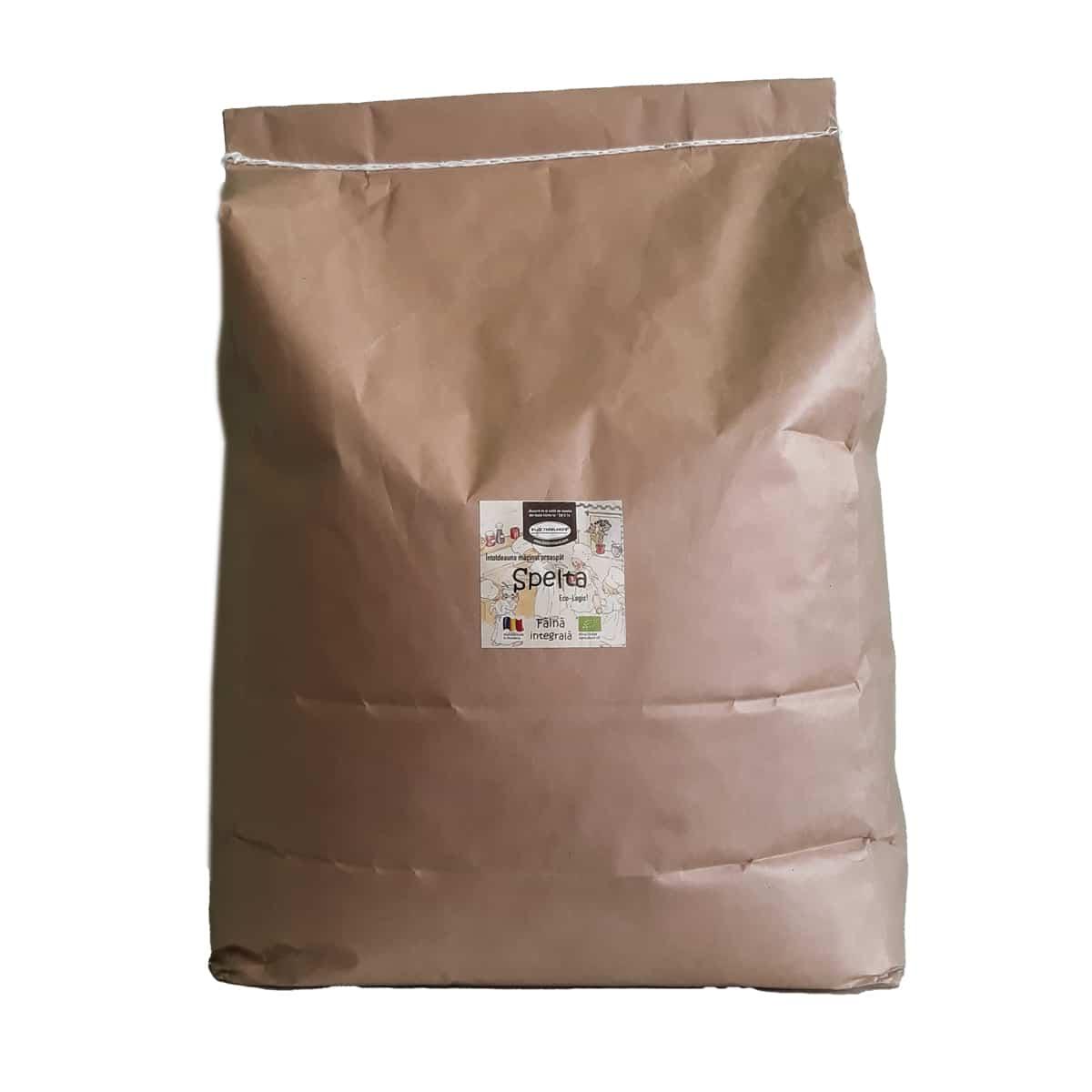Făină ecologică integrală Spelta - 20 kg