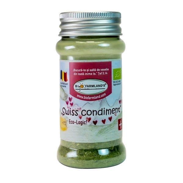 Swiss Condiment Flacon